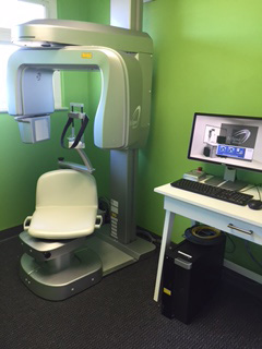 Peninsula Dental Implant Center - CT scan machine