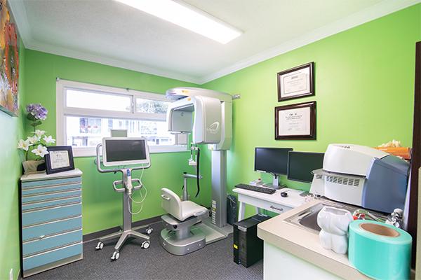 3D CT Scan Room